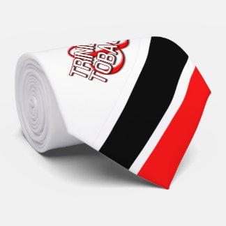 Cravate Le Trinidad et le Tobago (blancs)
