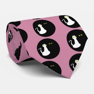 Cravate Les chats d'amour refroidissent des opposúx