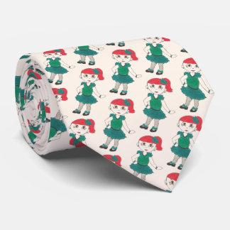 Cravate Les claquettes de professeur de papa de danse