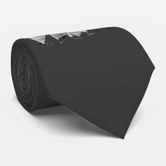 Cravate Les trois Rois Tie Double Sided (gris-foncé)