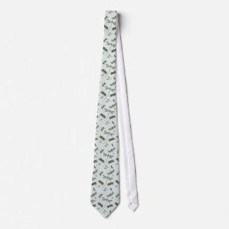 Cravate Libellules vintages