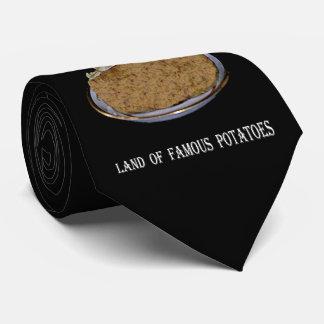 """Cravate L'Idaho """"terre des pommes de terre célèbres""""."""