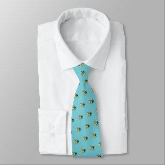 """Cravate Lutins"""" St Patrick (bleu """"de vol d'oeufs de Robin)"""
