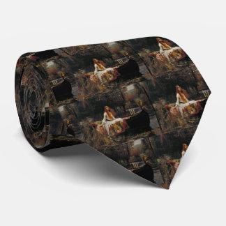 Cravate Madame d'art de PreRaphaelite d'échalote par le