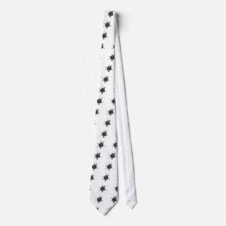 Cravate Matrice-Atome (décrivez tous noirs) (à l'intérieur