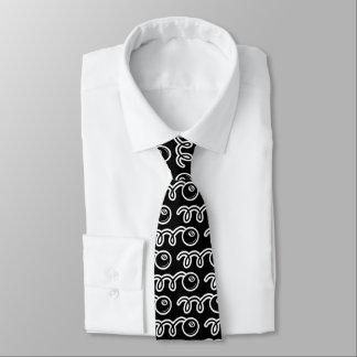 Cravate mignon de motif d'eightball pour des