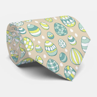 Cravate moderne de motif de dessin d'oeuf de
