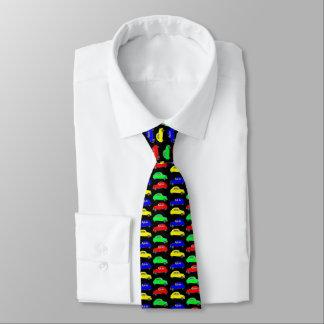 Cravate Motif carrelé par cv de Citroen 2