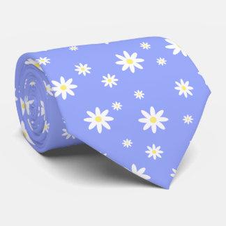 Cravate Motif en pastel mignon et girly de marguerite