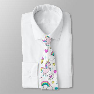 Cravate Motif mignon de licorne