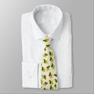 Cravate Motif vert d'aquarelle d'avocats