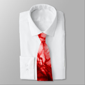 Cravate Moule noueux rouge