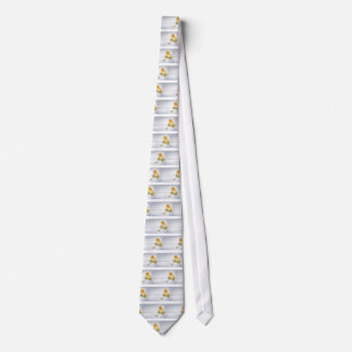 Cravate Natation jaune de caneton