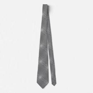 Cravate noire et blanche d'ondulation