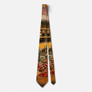 Cravate Nourriture - légumes - marché 1908 d'Indianapolis