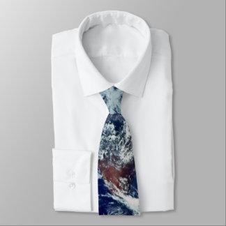 Cravate Nuages de la terre
