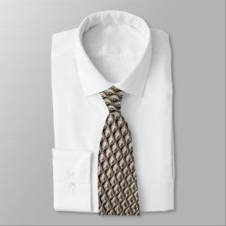 Cravate Optique structurelle grise