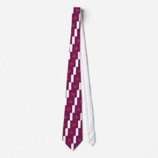 Cravate Ornements pourpres de luxe