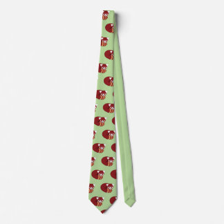 Cravate Panda rouge