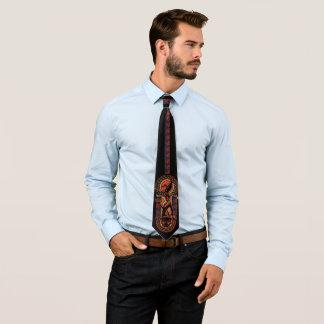 Cravate Panthère noire | Okoye et panneau de Nakia