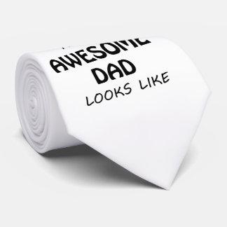 Cravate Papa impressionnant