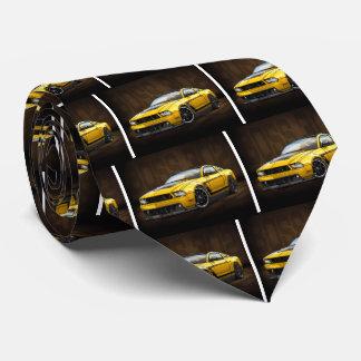Cravate Patron 302 du jaune 2012