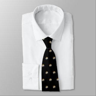 Cravate Patte d'ours (noir)