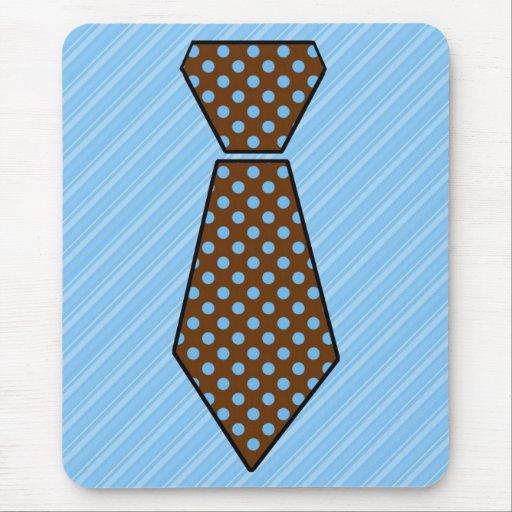Cravate personnalisable mignonne de fête des pères tapis de souris