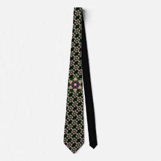 Cravate personnalisable primitive de paradis (rose