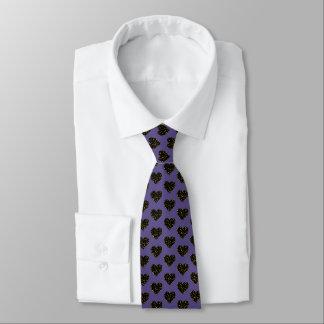Cravate Pois élégant - or noir