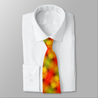 Cravate psychédélique