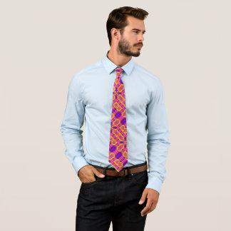 Cravate Rétro satin de Foulard de souffle de choc de