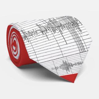 Cravate Roche 3 de séismogrammes