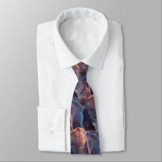 Cravate Roche modelée