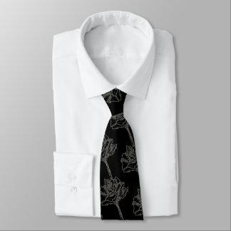 Cravate rose de concepteur