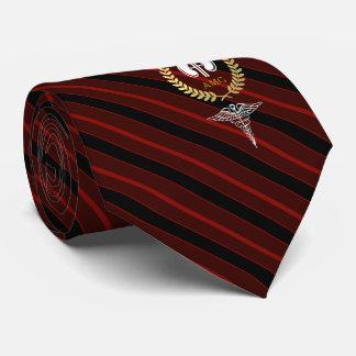 Cravate Rouge fait sur commande de néphrologue du