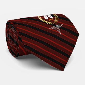 Cravate Rouge fait sur commande de thérapeute respiratoire