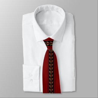 Cravate Rouge foncé de conception d'épine dorsale