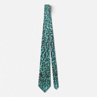 Cravate Rythmes en vert