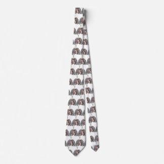 Cravate Sang humain vintage d'organes de coeur de poumons