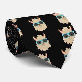 Cravate Sauvez le drame pour votre lama