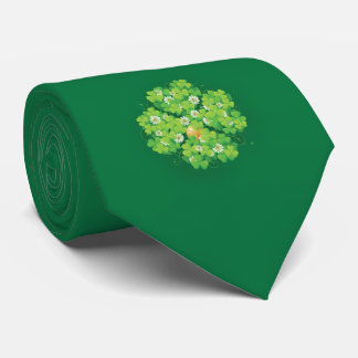 Cravate Shamrocks uniques élégants du jour | de St Patrick
