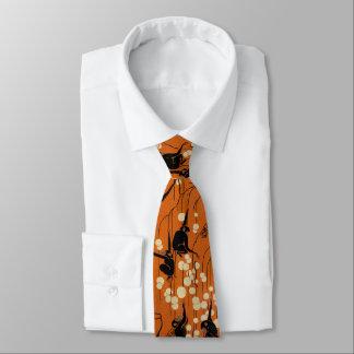 Cravate Singes Moderne vintages et bulles de Deco
