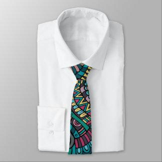 Cravate sophistiquée de motifs de déclaration