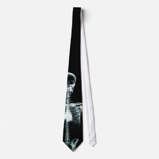 Cravate squelettique simple de vision de rayon X