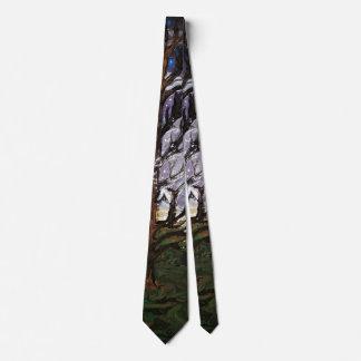 Cravate sylvatique d'artiste
