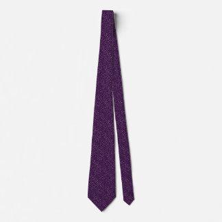 Cravate Tache mauve-foncé