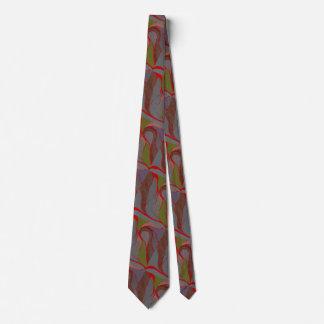Cravate terreuse d'éclaboussure d'éléments
