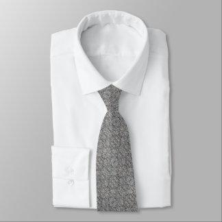 Cravate Texture concrète approximative grise 060