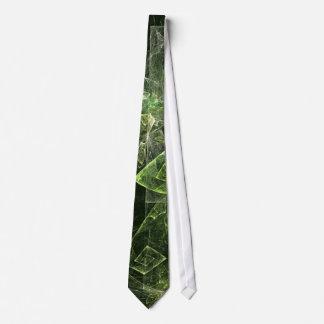 Cravate tordue d'art abstrait d'équilibre